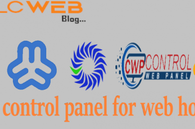 Free control panel for Webhosting