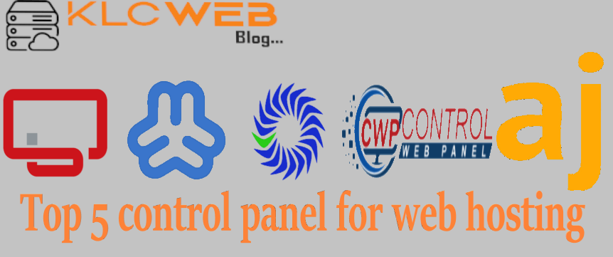 free control panels for web hosting