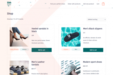 How to create a beautiful WooCommerce page?