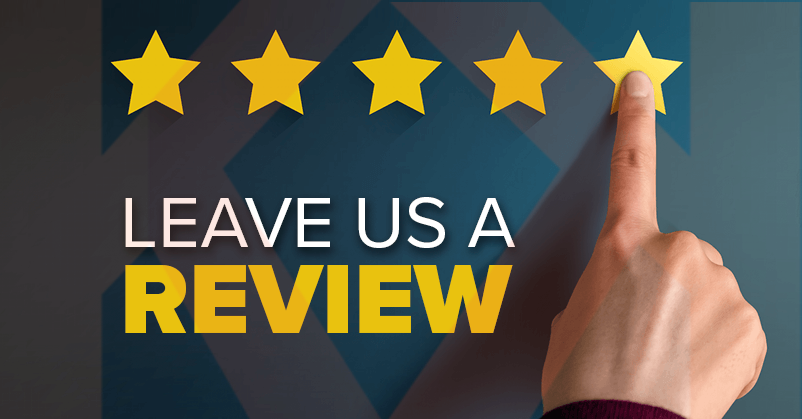 Three reasons why people leave reviews