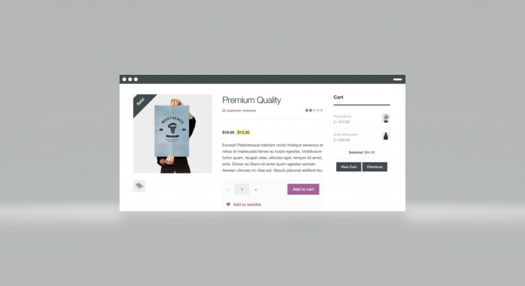 Online shop homepage usability