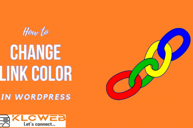 How to Change the Link Color in WordPress